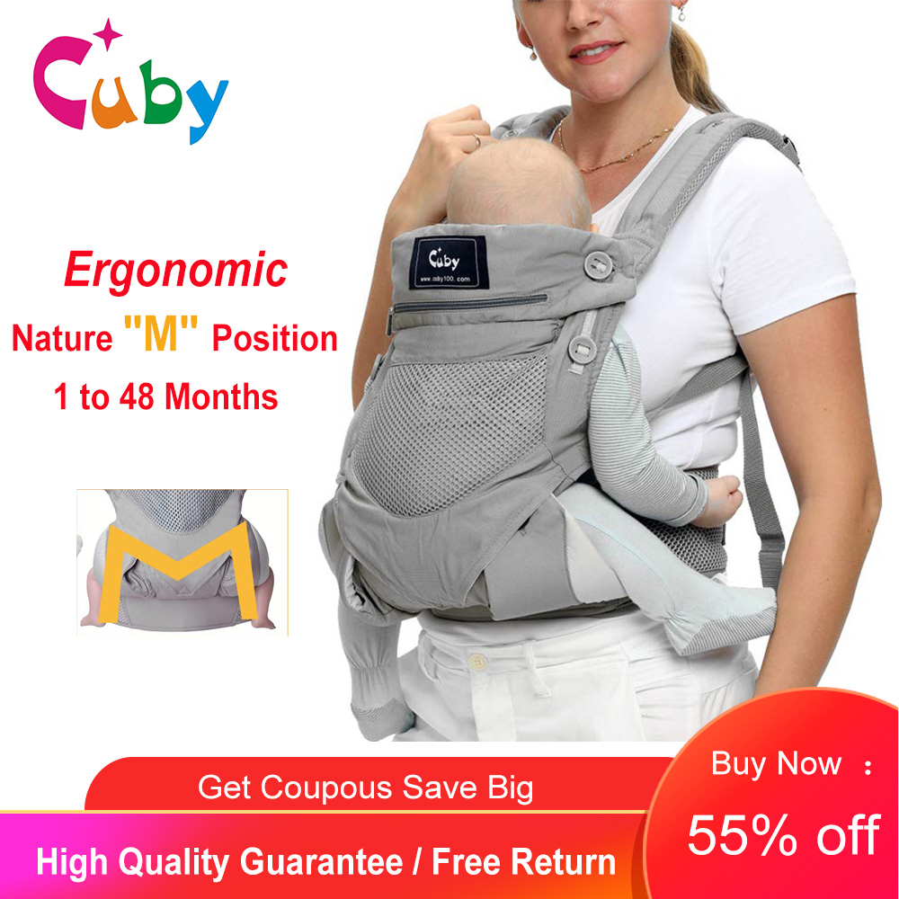 Baby Carrier 360 omni All Carry Positions Backpack Carrier Kangaroo Ergonomic Front Facing Baby Wrap Carrier Travel 0-36M
