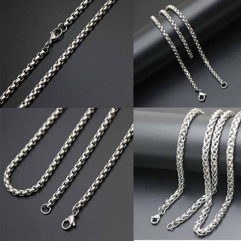 1 sztuk srebrny ze stali nierdzewnej stali nierdzewnej pudełko na naszyjnik łańcuch dla pamięci szkło wisiorek medalion kobiety mężczyźni