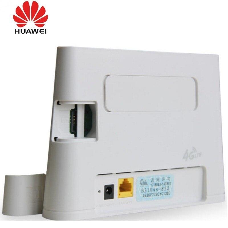Huawei b310as 852 4G Lte роутер B310 Lan Автомобильная точка доступа 150 Мбит/с 4 г LTE CPE wifi роутер модем с антеннами 2 шт. - 6