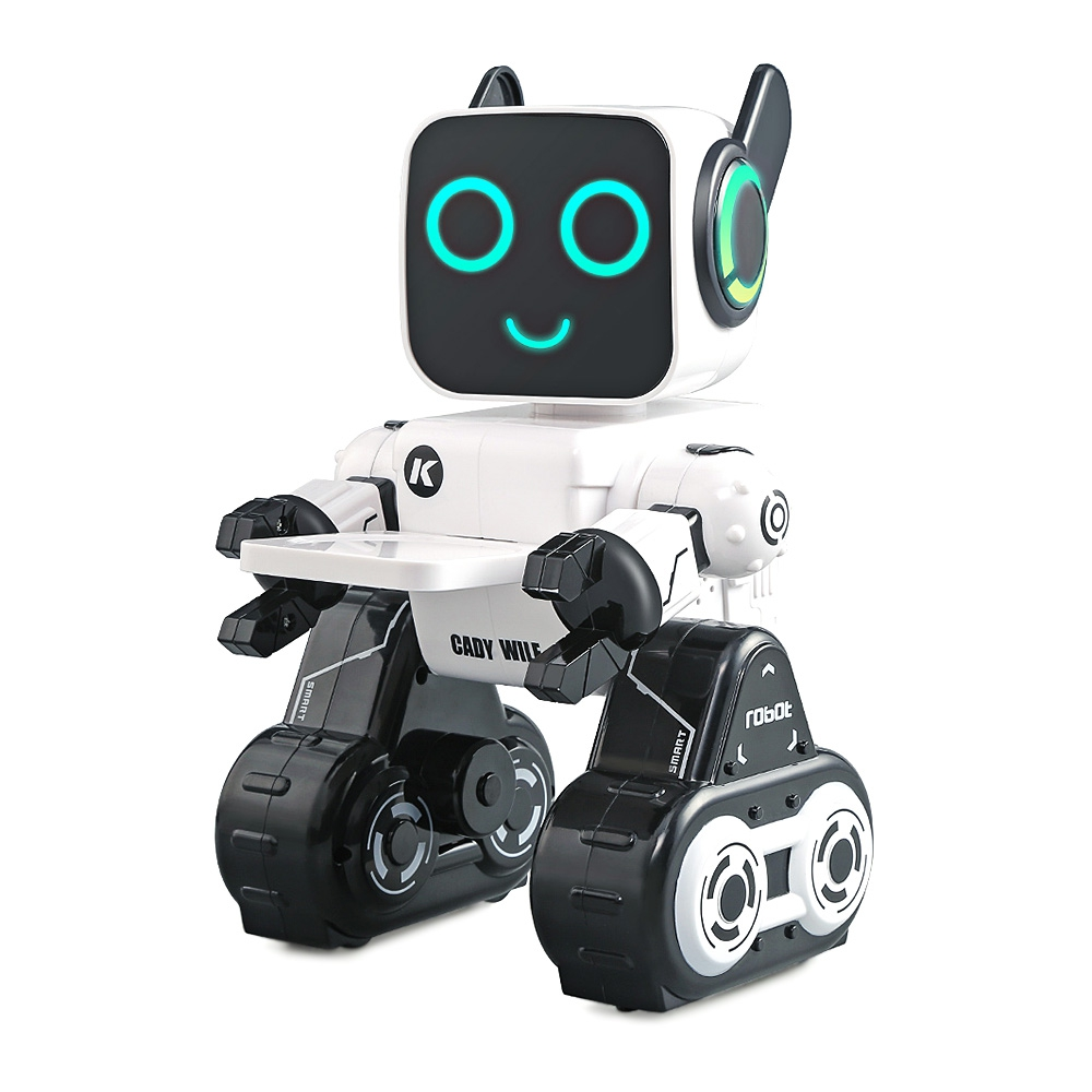 R4 Multifunctional Voice-activated Intelligent RC Robot Touch Mode Voice Recording Remote Control Robot Toy WJ-08
