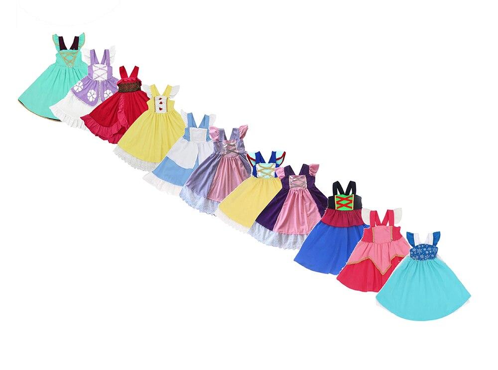Vestido de princesa traje elsa vestido de fadas vestido de sereia vestido de cinderela vestido de natal crianças vestidos para meninas traje de jasmim