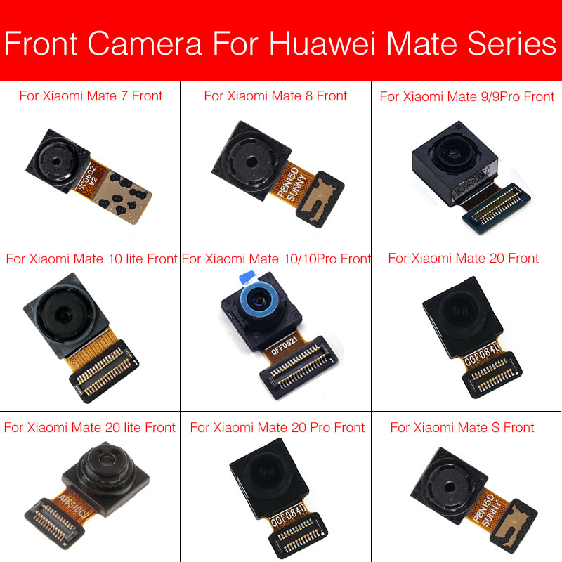 Front Camera Module Flex Cable Replacement Parts For Huawei Mate 7 8 9 10 20 S Lite Pro Small Facing Camera Flex Cable Repair