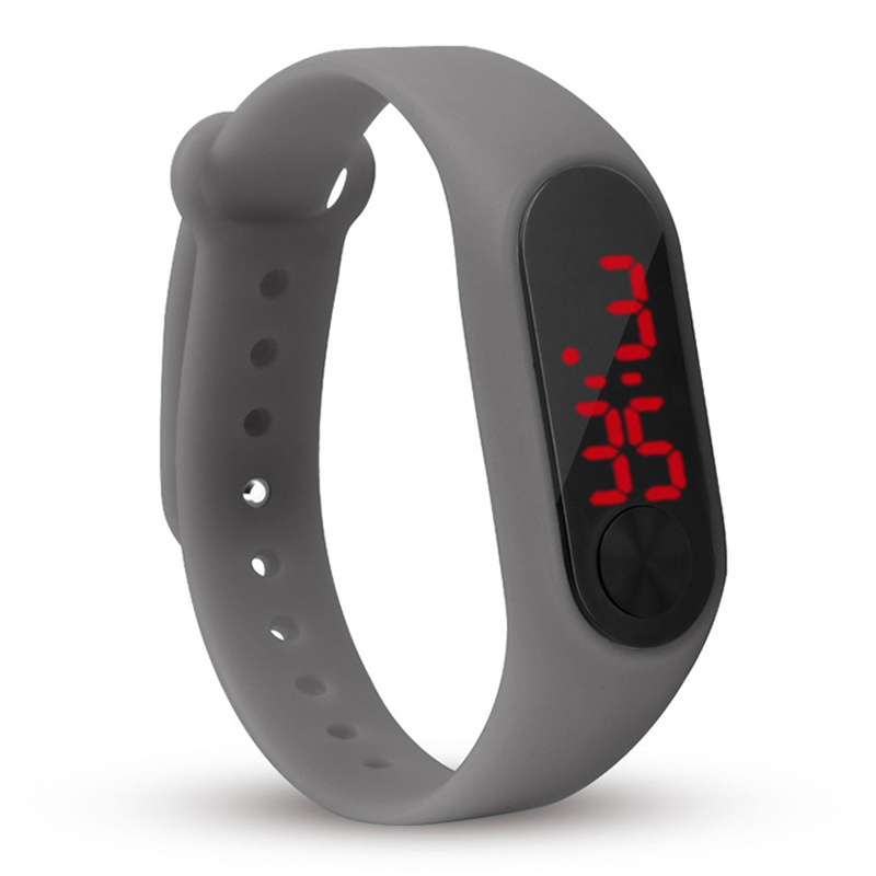 Children's Wristband Watches Led Digital Kids Wrist Watch Hot Birthday Boy Girl Sports Watchband Clock Child Baby Hour 2 New Top
