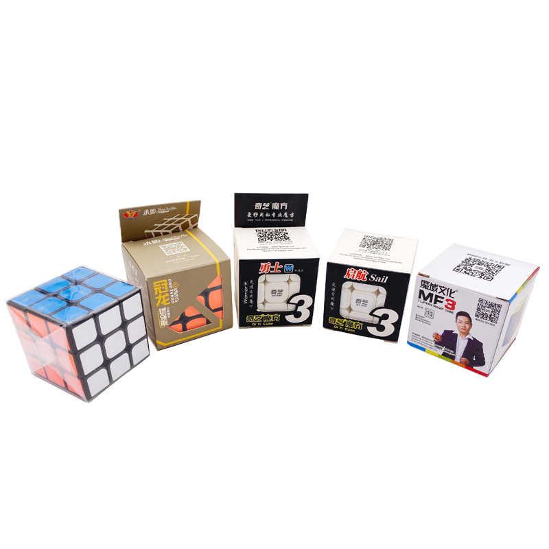 3x3x3 скоростной куб-наклейка, профессиональные магические головоломки, нео-куб, развивающие кубики, игрушки для детей, подарки-головоломки