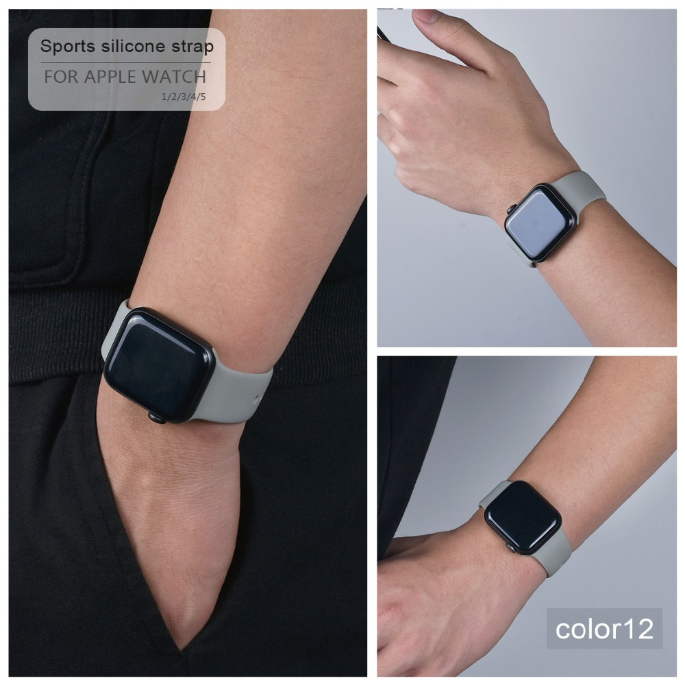 Soft Silicone Band for Apple Watch 93