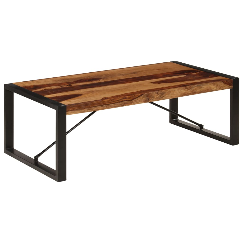 VidaXL Coffee Table 120x60x40 Cm Solid Sheesham Wood