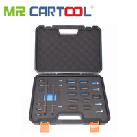 MR CARTOOL 18Pcs Engine Timing Camshaft Locking Device For Audi Porsche 3.0T timing tool T40331 Audi A4 3.0TFSI Timing EA839