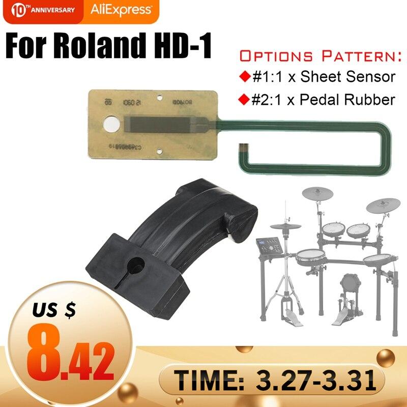 Drum Accessories Sheet Sensor Actuator Circuit Membrane Pedal Replacement Part For Roland HD-1
