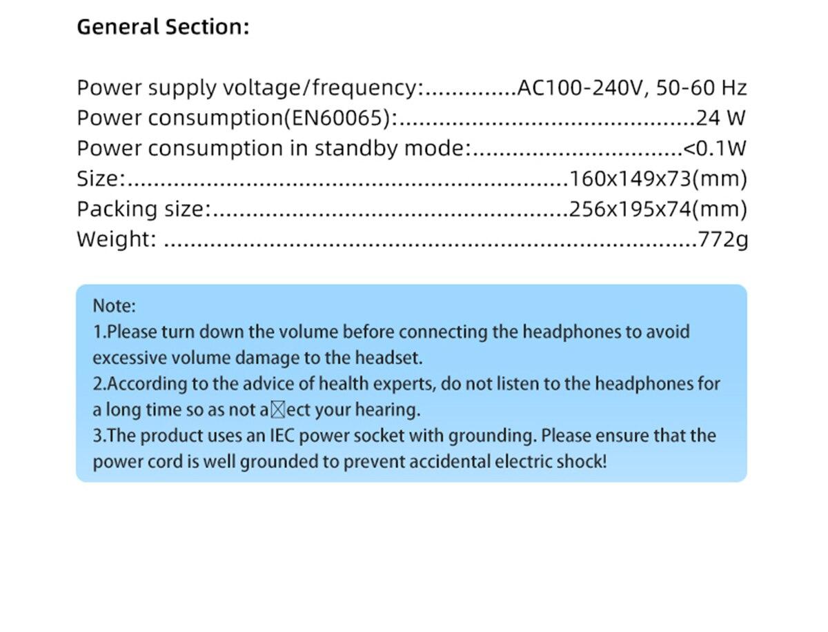 Amplificador de auscultadores de tecnologia smsl sp200 thx aaa 888