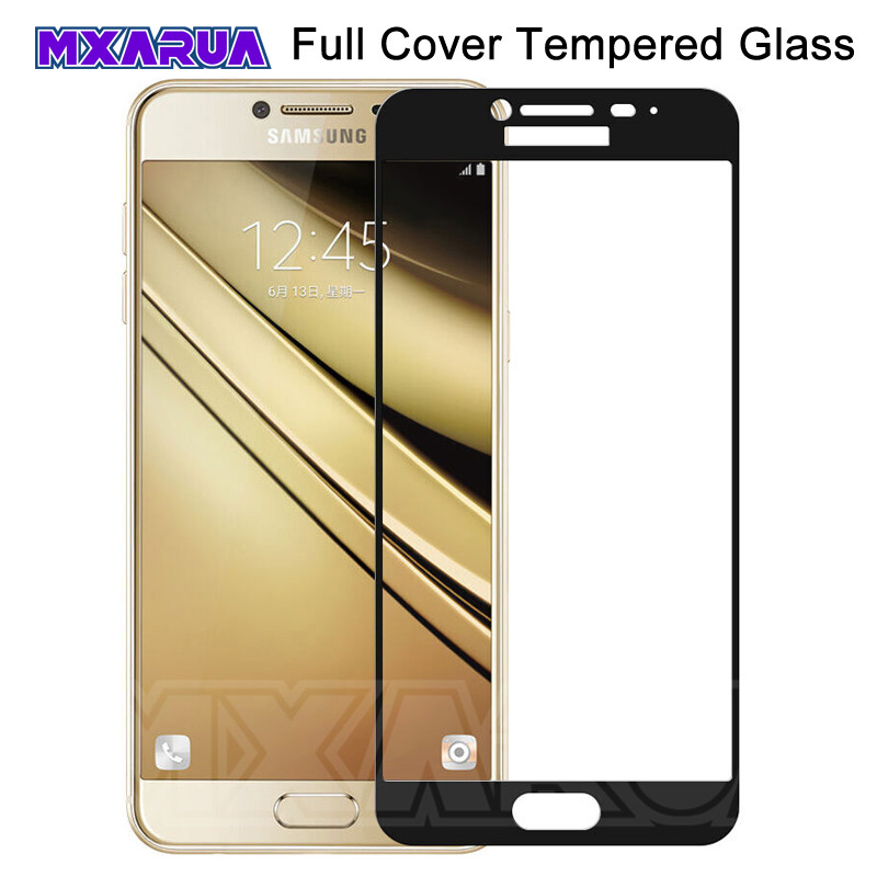 9D Full Cover Protective Glass On The For Samsung Galaxy J3 J5 J7 A3 A5 A7 2016 2017 S7 Tempered Screen Protector Glass Film