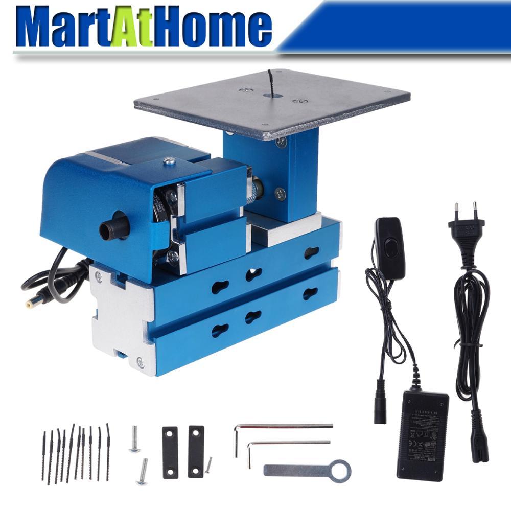 DIY Mini Multipurpose Metal Sawing Jigsaw Machine Input AC100V~240V CE UL GS For Hobbies/Model/Craft Maker, Science Education
