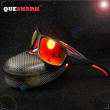 QUESHARK Polarized Sports Sunglasses for Men Women Baseball Running Cycling Fishing Driving Golf Softball Hiking Sun Glasses