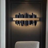 Nuevo y moderno de aplique de led para pared oro/Negro dormitorio Pared de salón lámparas casa de lujo Decoración Accesorios de luz