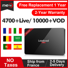 Leadcool Pro IPTV Italy/France/Spain/Arabic Box ITHDTV Android 8.1 1G+8G/2G+16G Italy Code