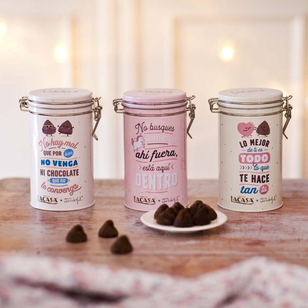 Lacase can truffles Mr. Wonderful · Pink · 100g