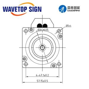 Image 5 - Leadshine HBS507 573HBM20 1000 Nema23 Servo ibrido trifase ad anello chiuso