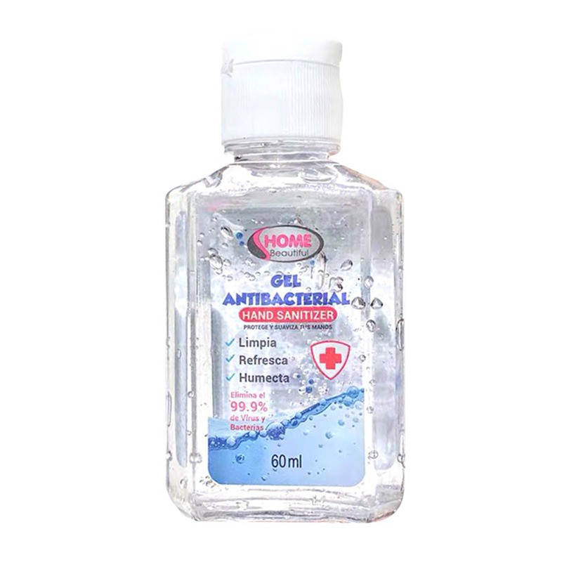 60ml/50ML/70ML Wash-free Antibacterial Hand Sanitizer 75% Alcohol Sterilization Disinfectant Gel Portable Quick-drying Wholesale