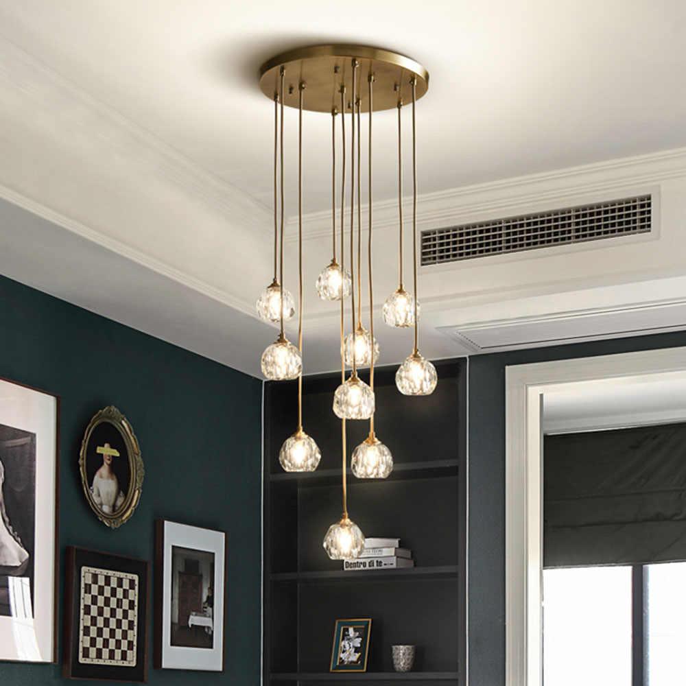 Fss Modern Mewah Crystal Lampu Gantung Lampu Led Lampu Untuk Ruang Tamu Ruang Makan Kamar Tidur Indoor Lampu Lampu Gantung Chandelier Aliexpress Lampu ruang tamu mewah