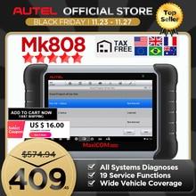 Autel MaxiCOM MK808 OBD 2 Công Cụ Chẩn Đoán OBD2 Máy Quét Tự Động Chẩn Đoán Chức Năng OBDII Mã Lập Trình Phím PK MX808