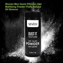 Women Men Fluffy Effective Modeling Oil Remove Quick Hair Mattifying Powder Refr