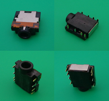 50pcs New For Dell Inspiron 17R N7110 N4030 N4020 Audio Jack Headphone Port Connector Socket Laptop Motherboard