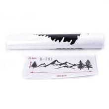 Cena etiqueta do carro decalque decalque adesivo 100cm árvore montanha noroeste moda nova marca quente