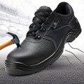 Deltaplus Sicherheit Schuhe Atmungs Rindsleder Anti smashing Arbeit Schuhe Stiefel Nicht slip Anti statische Schutz Schuhe-in Sicherheitsschuhe aus Sicherheit und Schutz bei