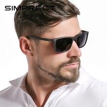 SIMPRECT TR90 Polarized Sunglasses Men 2020 UV400 Driver's S