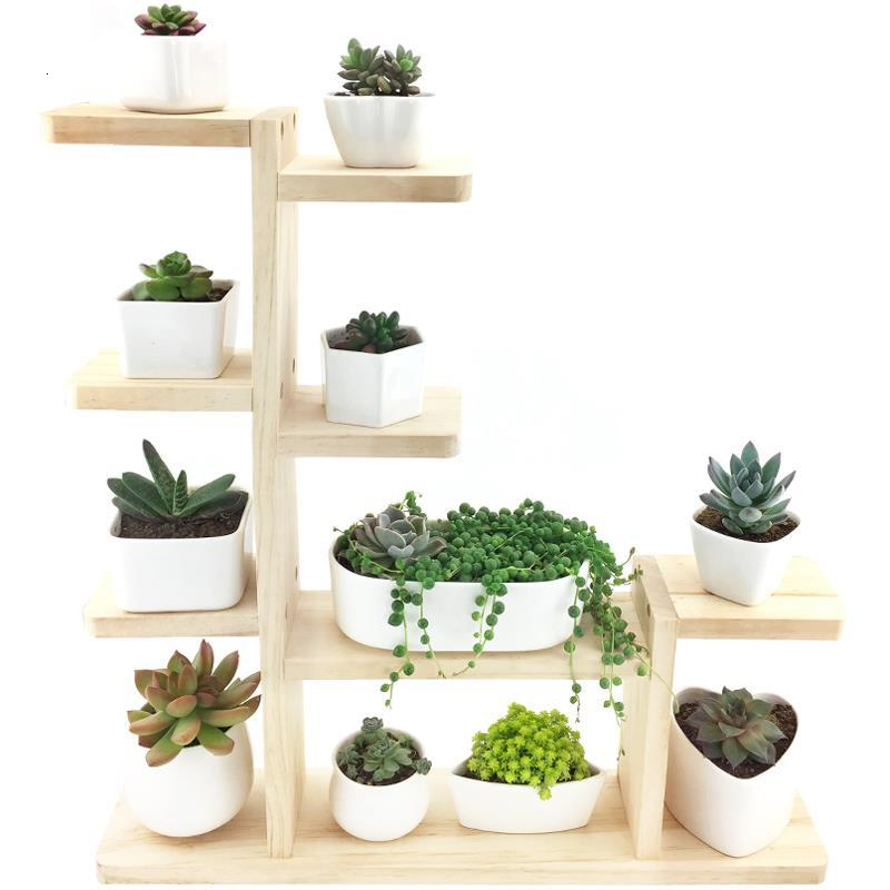 Shelves For Etagere Pour Plante Plantenstandaard Estanteria Para Plantas Shelf Outdoor Dekoration Stojak Na Kwiaty Flower Stand