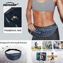 Running Gym Bag Outdoor Sport Bag Backpack Fitness Accessories Swimwear Women Waterproof Phone Jogging Belt Belly Bag(China)