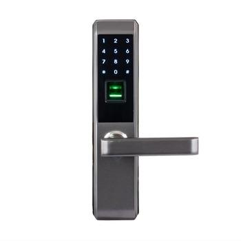 LACHCO 2020 Biometric Fingerprint Electronic Smart Door Lock, Code, Card,Touch Screen Digital Password Lock Key for home lk18A3F lachco 2020 biometric fingerprint electronic smart door lock code card touch screen digital password lock key for home ak18a3f
