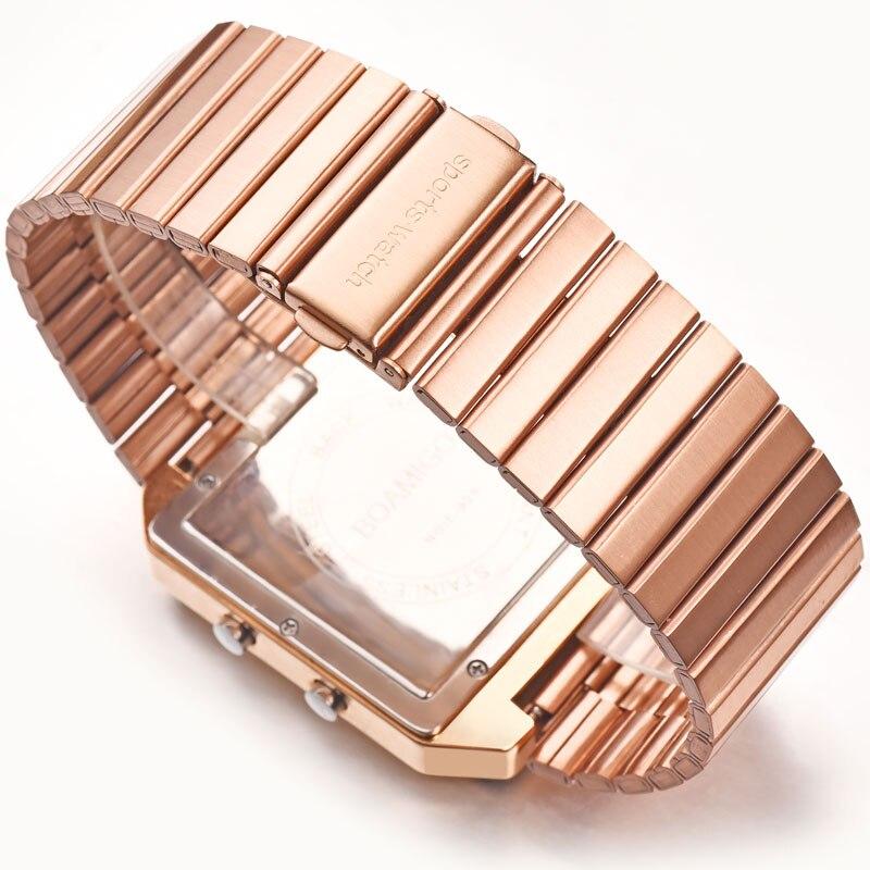BOAMIGO Топ бренд Роскошные спортивные часы мужские модные цифровые аналоговые светодиодный часы подарок на Новый год relogio masculino - 4