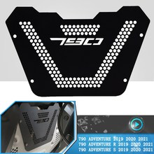 For 790 Adventure 790ADVENTURE R S 2019 2020 2021+ Motorcycle Engine Guard Cover Motocross Aluminum Crap Flap Grille Protector