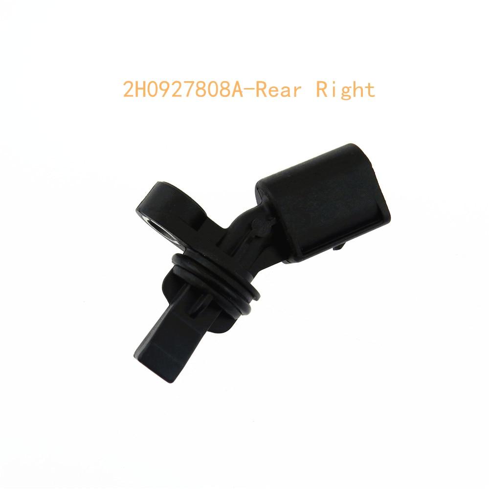Rear Left Right ABS Wheel Speed Sensor 2h0927807A 2h0927808A for A3 TT VW Passat