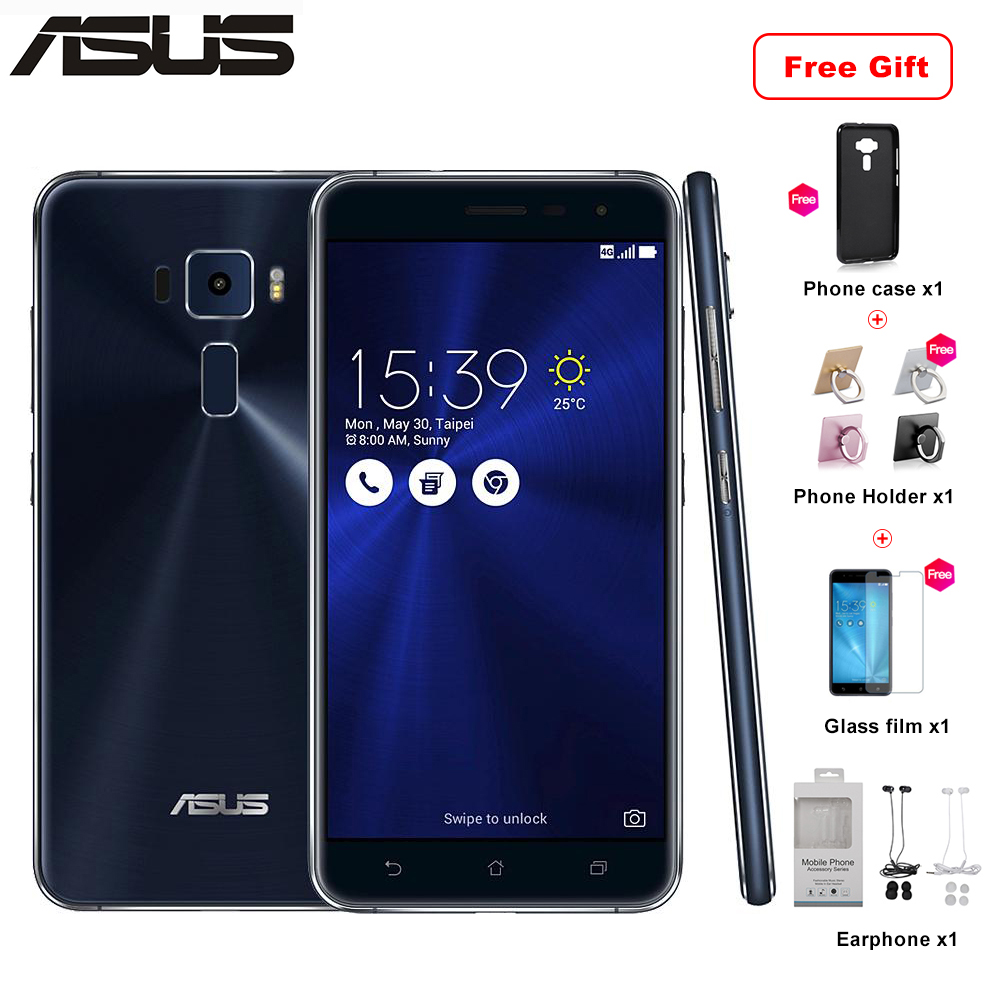 New Asus Zenfone 3 ZE552KL Phone 4G LTE 4GB RAM 64/128GB ROM Mobile Phone 5.5