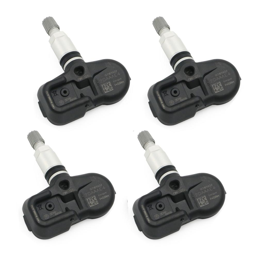 4 pieces Tire Pressure Monitoring System Sensor 42607-33021 42607-0E011 42607-33011 For Lexus IS250 IS350 RX350 GS300 GS350 GS43