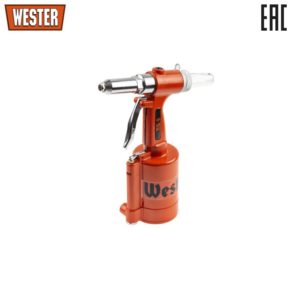 Pneumohydraulic riveter WESTER ...