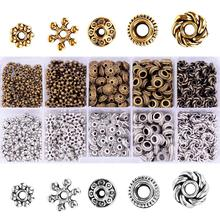 500pcs/set Spacer Beads for DIY Bracelet Necklace Jewelry Making Findings&Components