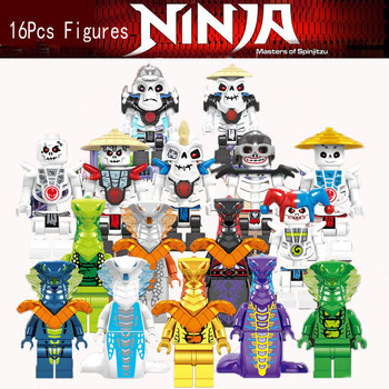 16PCS/LOT Ninjagoe  Lloyd zane Kai Cole Jay Nya mit Masters of Spinjitzu Empire Energy Gamer's MarketBlock KID TOYS 2020 NEW 2