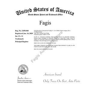 Fagis 10 шт прозрачное стекло Теплый Белый T15 W16W галогенная лампа 12V 16W интерьерный светильник зазор светильник галогенный светильник