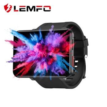LEMFO LEMT 4G Smart Watch 2.86 inch Big Screen Android 7.1 3G RAM 32G ROM LTE 4G Sim Camera GPS WIFI Heart Rate 2700mAH Battery 1