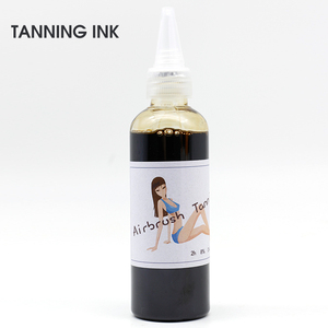 Image 3 - 1 Bottle Golden Phoenix Temporary Tattoo Makeup Pigment Airbrush Spray Tanning Ink 8% DHA Beauty Supplies