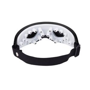 Image 5 - 전기 진동 눈 마사지기 눈 관리 장치 주름 피로 회복 자석 치료 침술 마사지 안경 안경 P49