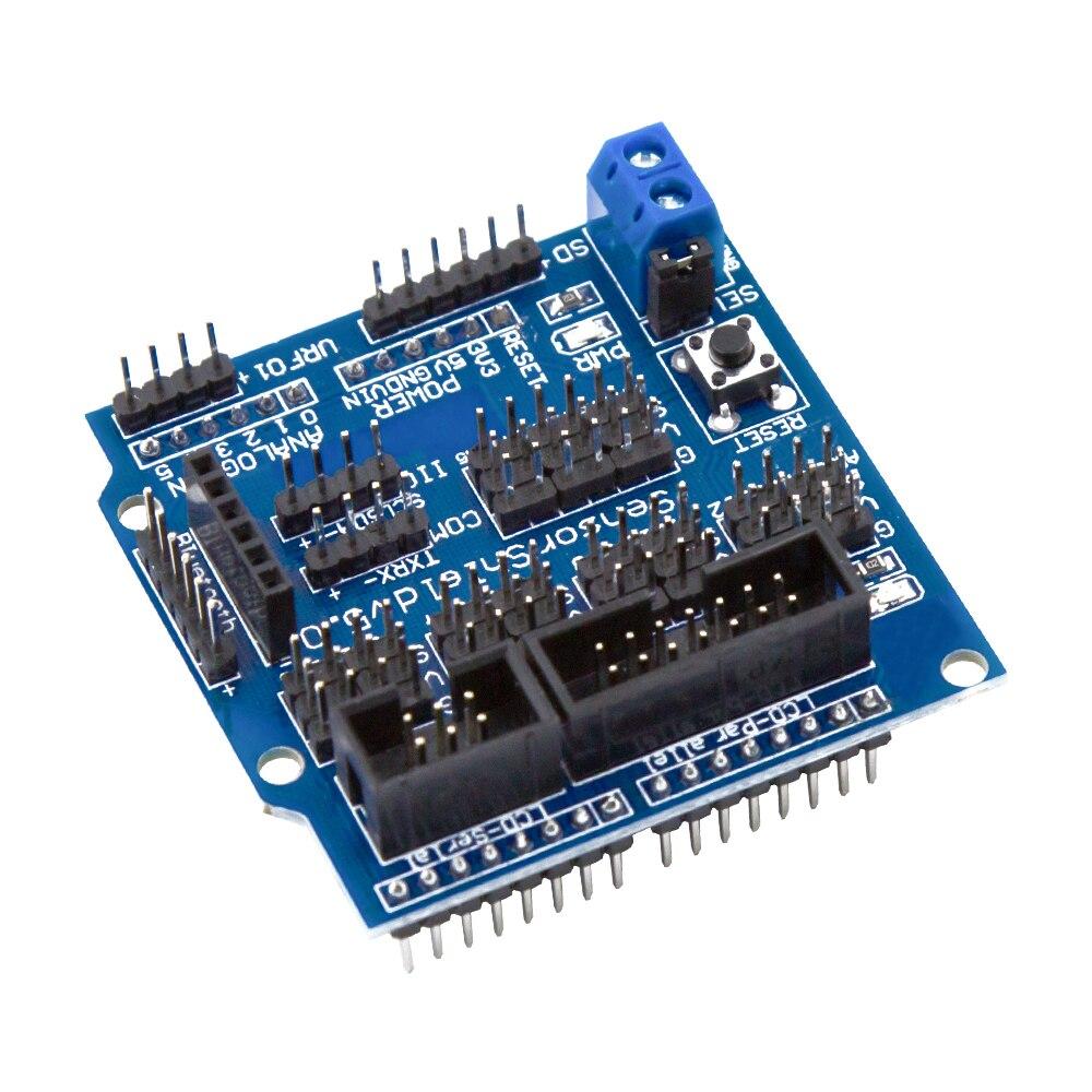 v50-sensor-shield-expansion-board-for-font-b-arduino-b-font-electronic-building-blocks-robot-accessories-sensor-shield-v5-expansion-board