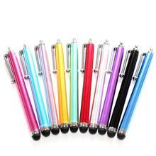 Светильник, конденсаторная ручка для мобильного телефона, металлическая ручка для сенсорного экрана, ручка для мобильного телефона, планшета, универсальный стилус для сенсорного экрана