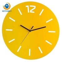 Nordic Electronic Wall Clocks Creative Quartz Mute Modern Wall Clock Minimalist Wrought Iron Home Decoration Accessories
