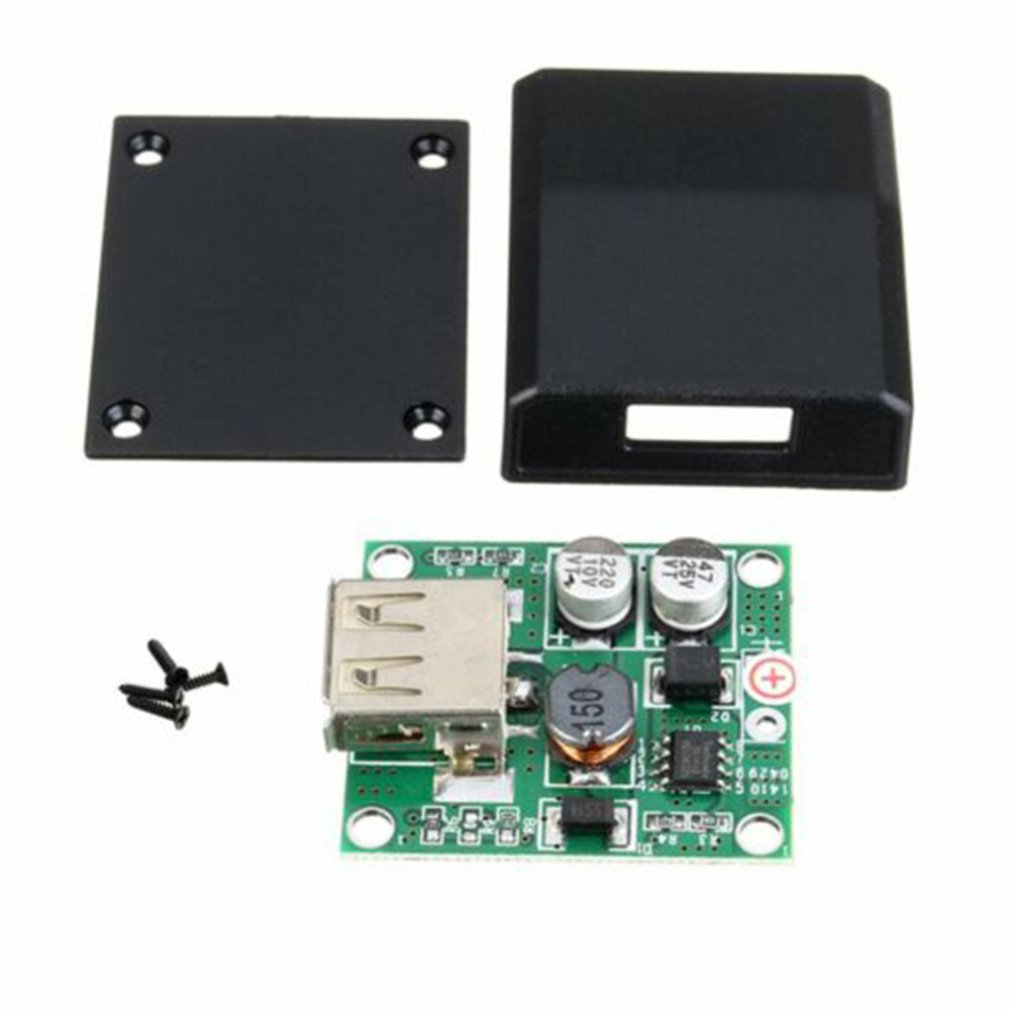 DIY 5V 2A Voltage Regulator Junction Box Solar Panel Charger Special Kit Module For Electronic Production