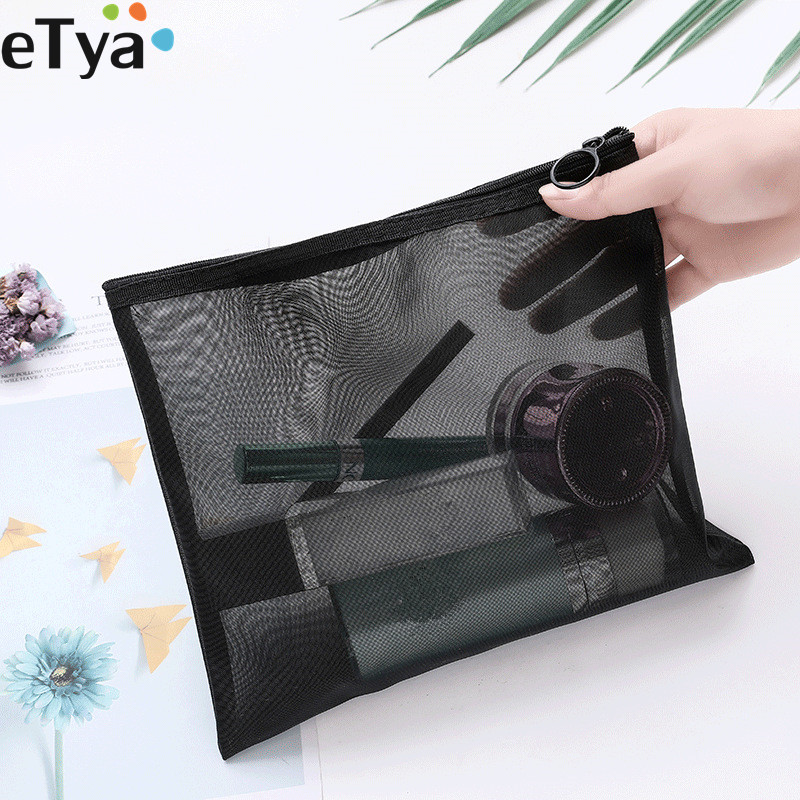 Small Large Cosmetic Bag Transparent Neceser Function Makeup Bag Case Travel Storage Pouch Toiletry Beauty Wash Organizer Pouch