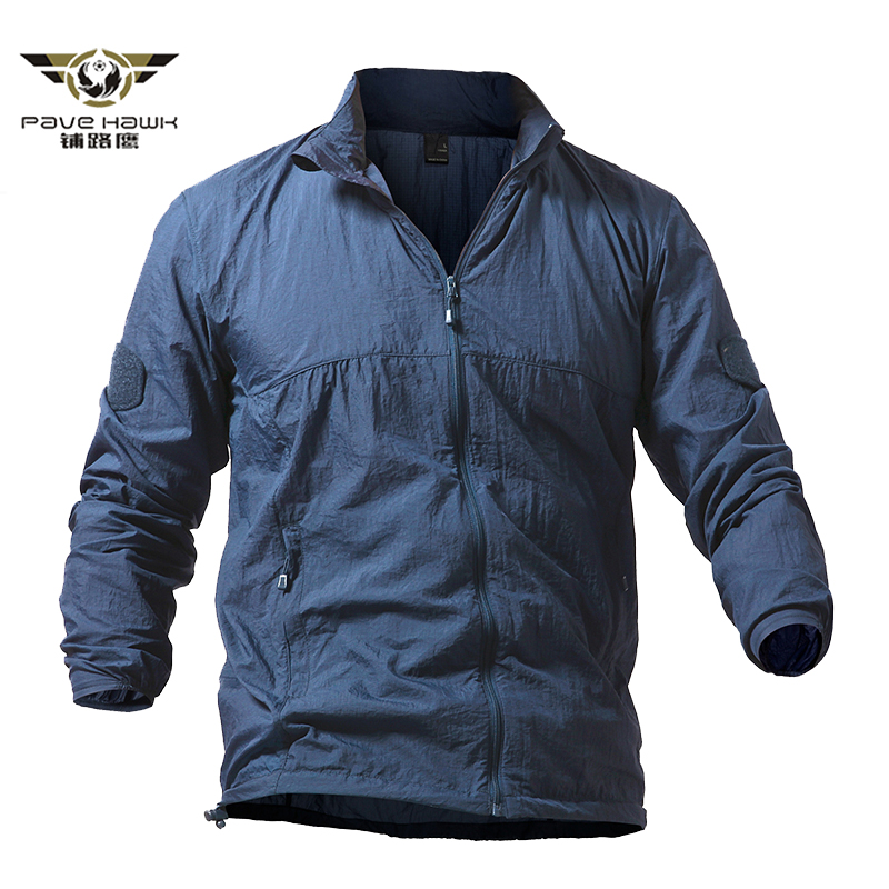 Army Military Jackets Men Summer Thin Waterproof Windbreaker Quick Dry Tactical Skin Jacket UPF 50+ Breathable Raincoat 4XL 5XL
