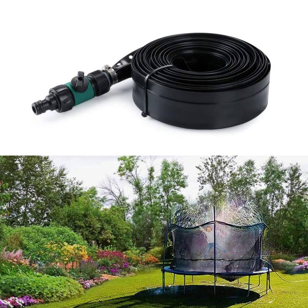 Trampolin Sprinkler Trampolin Spray Wasserpark Spaß Sommer Outdoor Dedicated